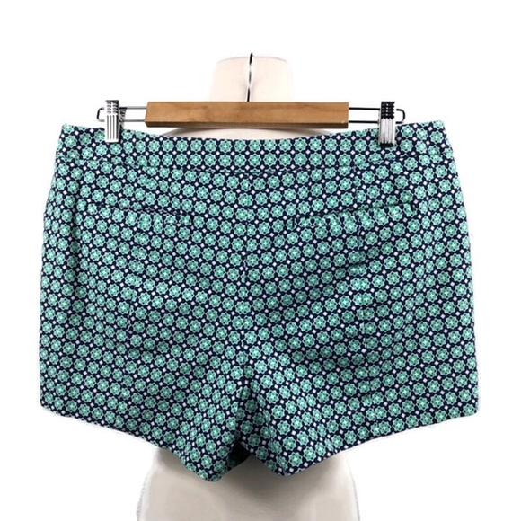 GAP Pants - Green and Blue High Rise Shorts by Gap